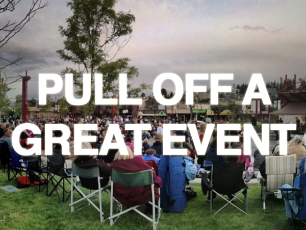 Pull off a great event